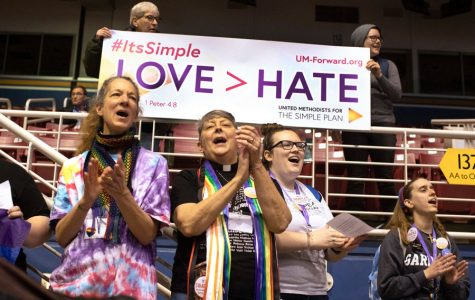 After ban on LGBT-inclusive practices, progressive Methodists in Evanston see potential split of church