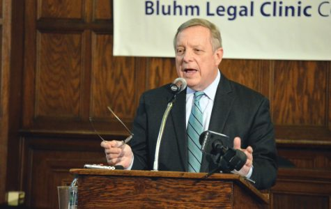 U.S. Sen. Dick Durbin (D-Ill.). Durbin demanded an investigation into conditions of detention facilities near the border.