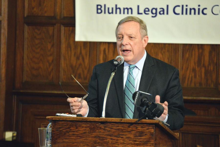 U.S. Sen. Dick Durbin (D-Ill.). Durbin demanded an investigation into conditions of detention facilities near the border.
