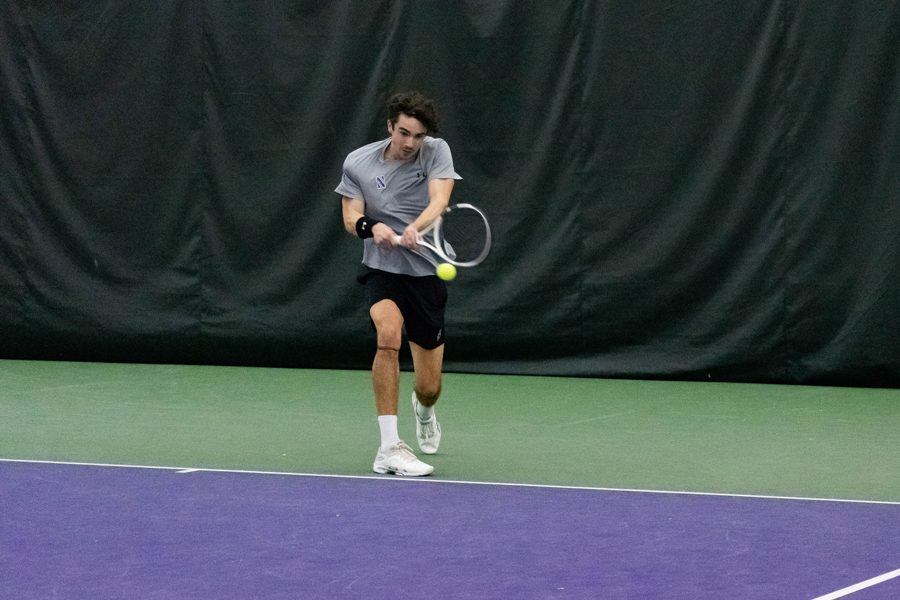 sports shoes 4e6d0 4b74a Men s Tennis  Northwestern doubles team falls in Sweet 16 of NCAA Tournament