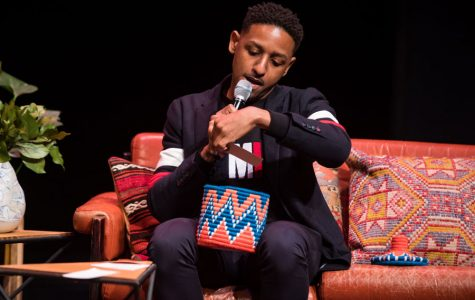 Communication Prof. Aymar Jean Christian hosts the April OpenTV premiere at Museum of Contemporary Art. OpenTV, which started as Christian's research project, focuses on distributing intersectional web series written by Chicago-based creators.