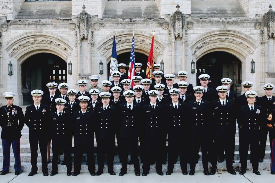 NU's NROTC unit is described by midshipmen as a tight-knit, supportive community. The program is quite demanding, consisting of 5 a.m. wake-up calls and early morning physical training year-round.