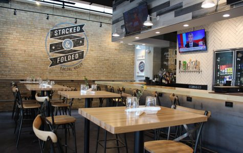 Stacked & Folded Social House serves up dishes like a short rib banh mi and an ahi tuna poke bowl. The new Noyes Street restaurant is open for lunch and dinner every day of the week.
