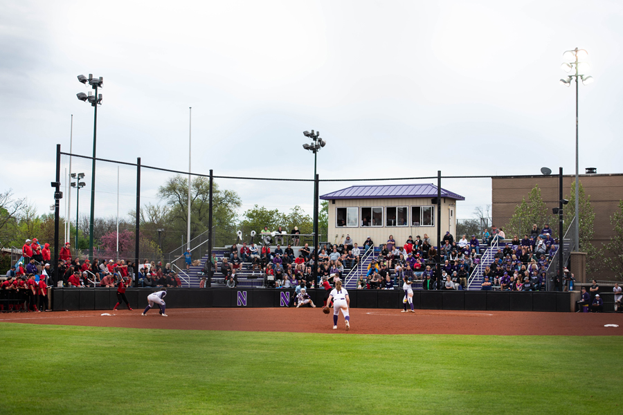 "Sharon J. Drysdale Field. ""The J"" hosted the first regional in Evanston since 2008."