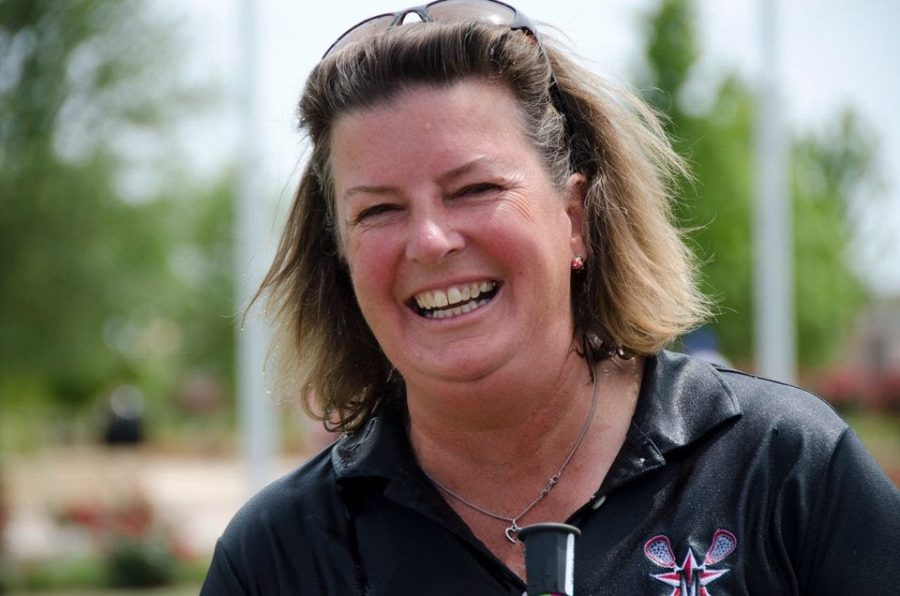 The late Angie Kensinger. Kensinger, the longtime coach at the St. John's School in Houston and a beloved figure in the lacrosse world, died in a plane crash on April 22.