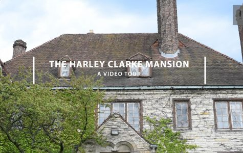 A video tour of the Harley Clarke Mansion