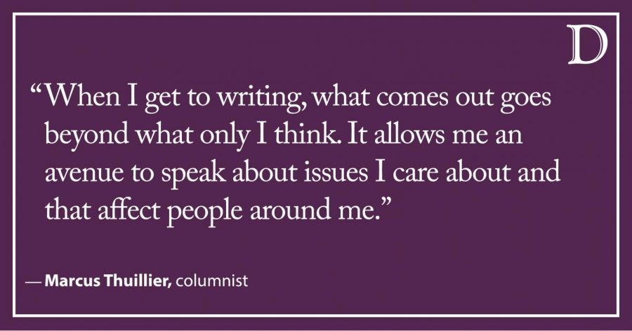 Thuillier: Reflecting on how journalism is shaping my future