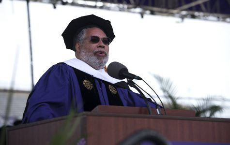 Commencement speaker Lonnie Bunch reminds graduating students to 'fight the good fight'