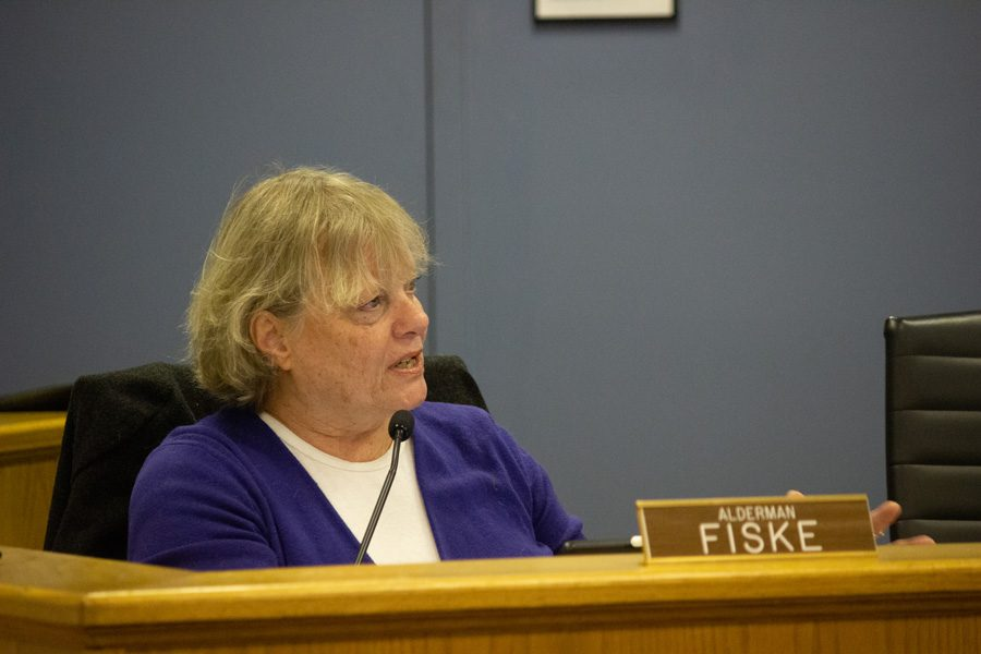 The city council heard comments regarding a DHSEM van at the Custer Fair and discussed the library parking lot property.