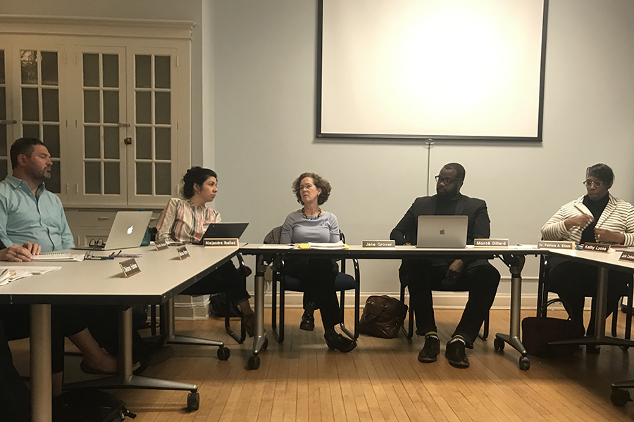 """The Evanston Equity and Empowerment Commission discusses a potential """"Solutions Fund"""" at a Thursday meeting."""