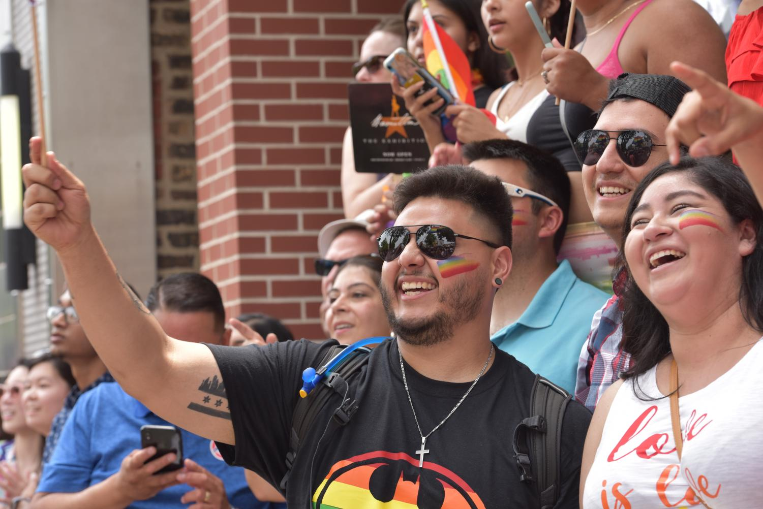 Illinois residents celebrate the LGBTQ community at the Chicago pride parade. Illinois Gov. J.B. Pritzker signed a bill Aug. 9 that mandates all public schools in the state to teach about the contributions made by LGBTQ people to state and U.S. history.