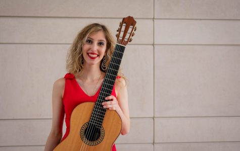 Marisa Sardo. The Bienen Senior will perform classical guitar in Salzburg and Amsterdam this July.