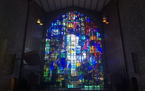 Glass act: History and impact of stained glass windows in Alice Millar Chapel