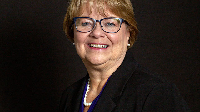 Pamela Beemer, Northwestern's vice president for human resources and chief human resource officer. Beemer will step down from the position at the end of August, and University officials have begun a search for her replacement.