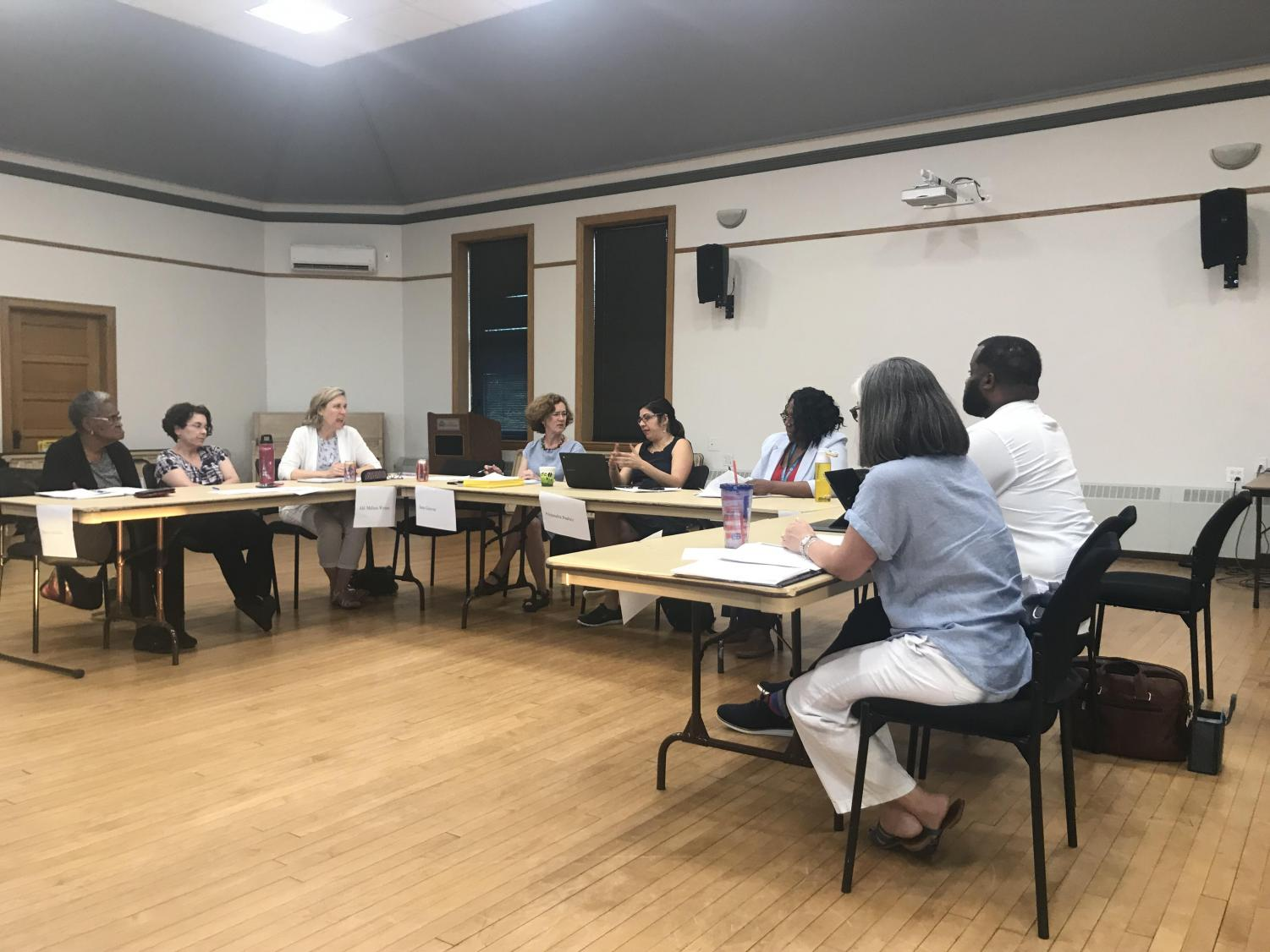 The Evanston Equity and Empowerment Commission continued discussions regarding reparations on Thursday.
