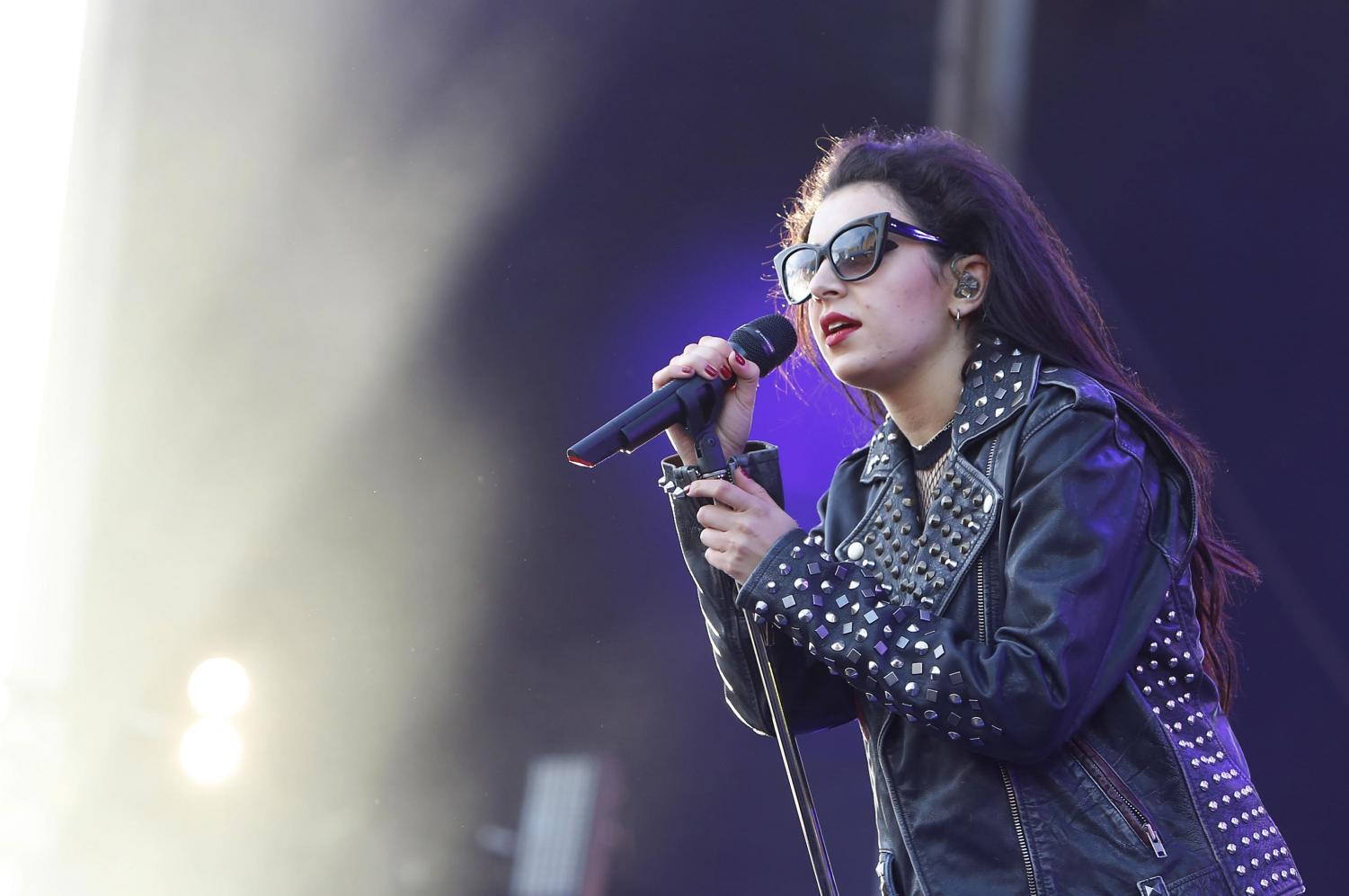 Charli XCX performs in 2015. Pitchfork Music Festival will feature Charli XCX and many other artists from a variety of genres.