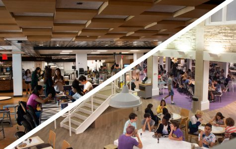 Dining hall updates meant to create a more welcoming community space