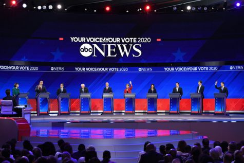 Candidates clash over gun control, public education in third round of debates