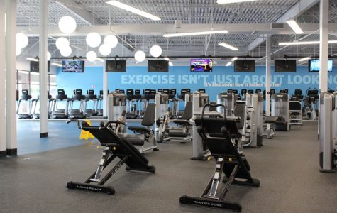 Blink Fitness' new Evanston location offers dozens of cardio machines for members to use. It also has free weights and personal training sessions.