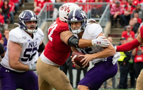 Football: Northwestern's offense struggles in 24-15 loss against No. 8 Wisconsin