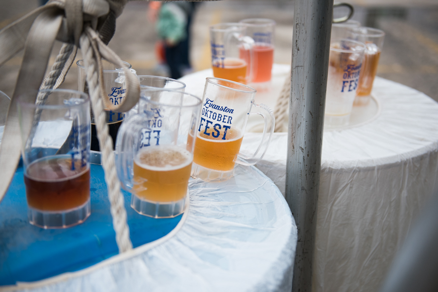 A thousand people tried forty different beers and ciders at the fifth Annual Evanston Oktoberfest.