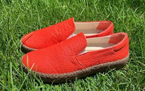 """The """"world's first plant-based footwear brand"""" boasts an ergonomic design with a cushioning heel and every pair sold funds a tree planted."""
