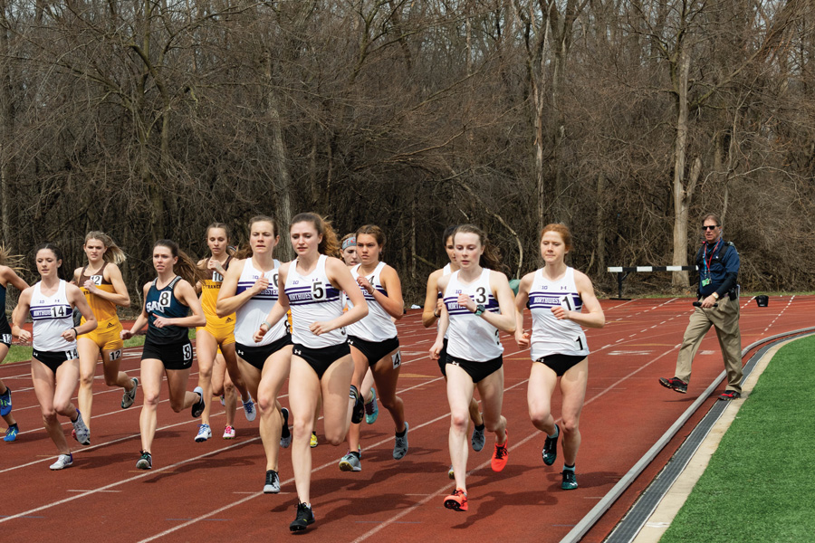 Kelly O'Brien, Sarah Nicholson and Aubrey Roberts are amongst the runners for the Wildcats. Northwestern's runners will be split between two events this weekend.