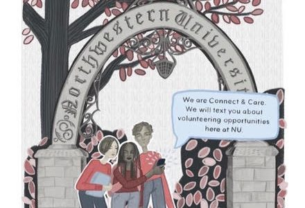 Northwestern startup uses texting platform to help students connect with other nonprofits in Chicago