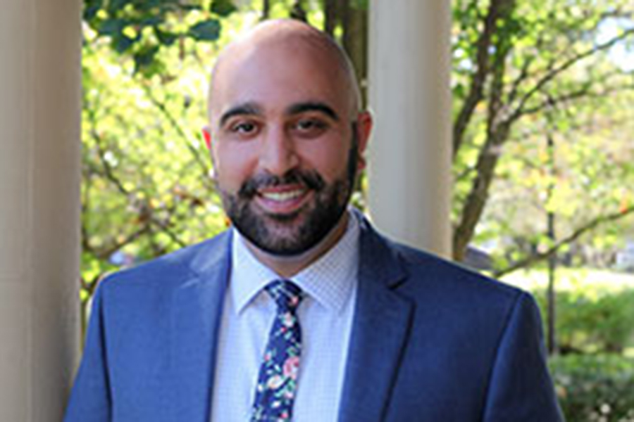 Matt Abtahi is the new director for LGBTQ issues at Multicultural Student Affairs. Abtahi is a Chicago native.
