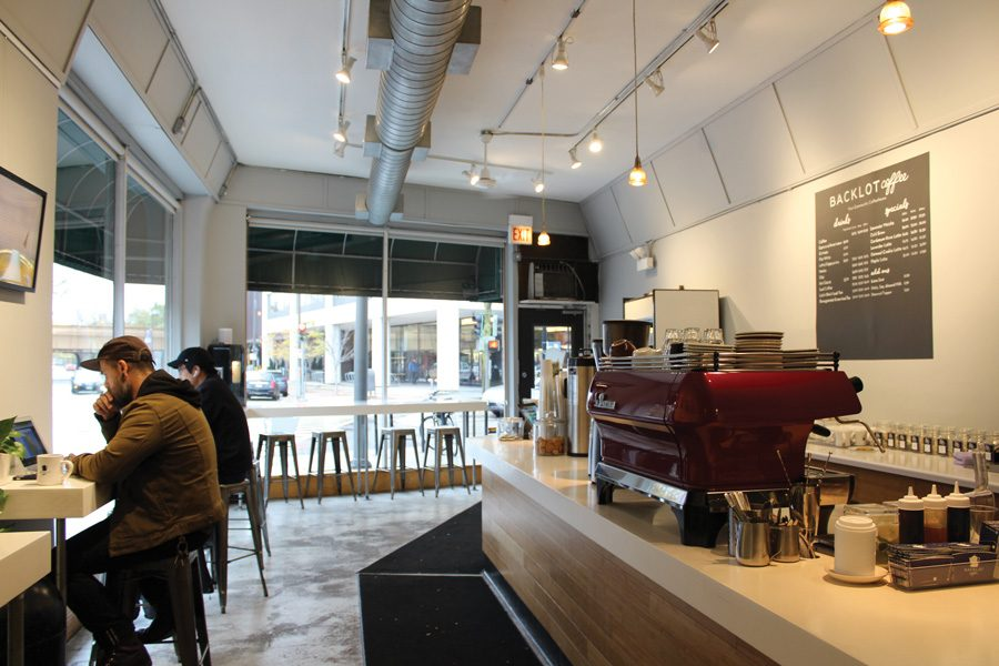 Backlot Coffee's opened a new location on Sherman Avenue on Monday, Oct. 21. This is the shop's third retail location.