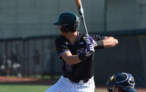 Sophomore Michael Trautwein loads up his swing. The sophomore primarily played at catcher last season.