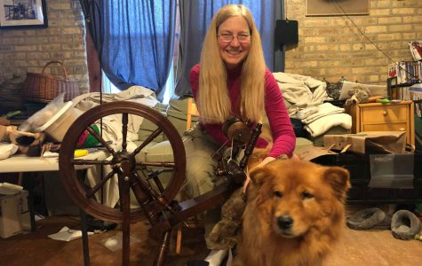 Evanston business Knit Your Dog celebrates the art of spinning dog hair