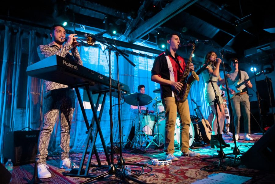 Honey Butter performs at Evanston SPACE in October. The band originally came together for a basement show, but now is bringing its smooth sound to venues across Evanston and Chicago.
