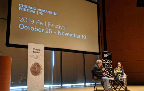 "Rebecca Makkai, author of ""The Great Believers,"" and Rick Kogan discuss the award-winning novel. Makkai was awarded the 2019 Chicago Tribune Heartland Prize for Fiction."
