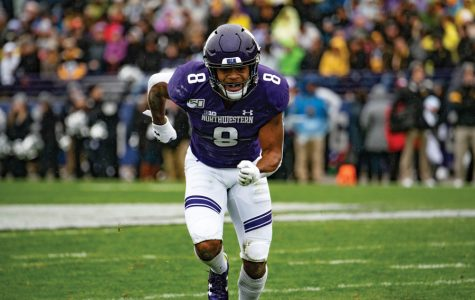 Football: McGowan joins depleted Northwestern running back corps
