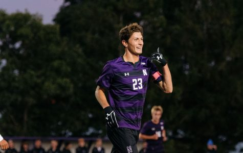 Men's Soccer: Northwestern defeats Div. III Aurora 6-0 behind Howard's hat trick