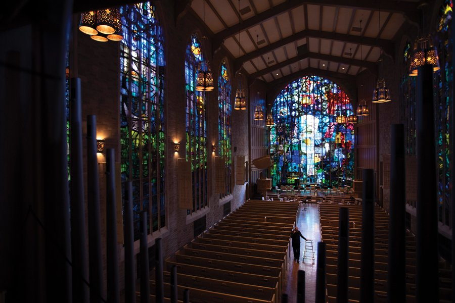 Alice Millar Chapel. The chapel is one of this year's Open House Chicago sites.
