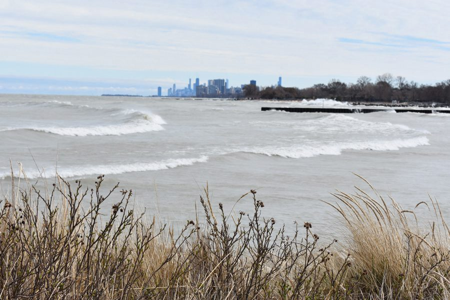 Lake Michigan. The city praised the success of outreach in its climate action plan.