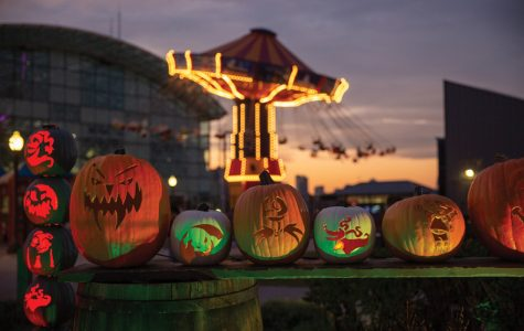 Navy Pier's first pumpkin festival features carvings of pop culture and art figures
