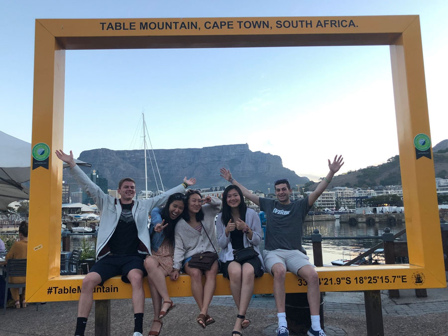 Medill senior Katherine Liu on her Journalism Residency in South Africa last spring. Medill recently announced several changes to the journalism residency program in South Africa, including the addition of U.S. and European news outlets to South African ones.