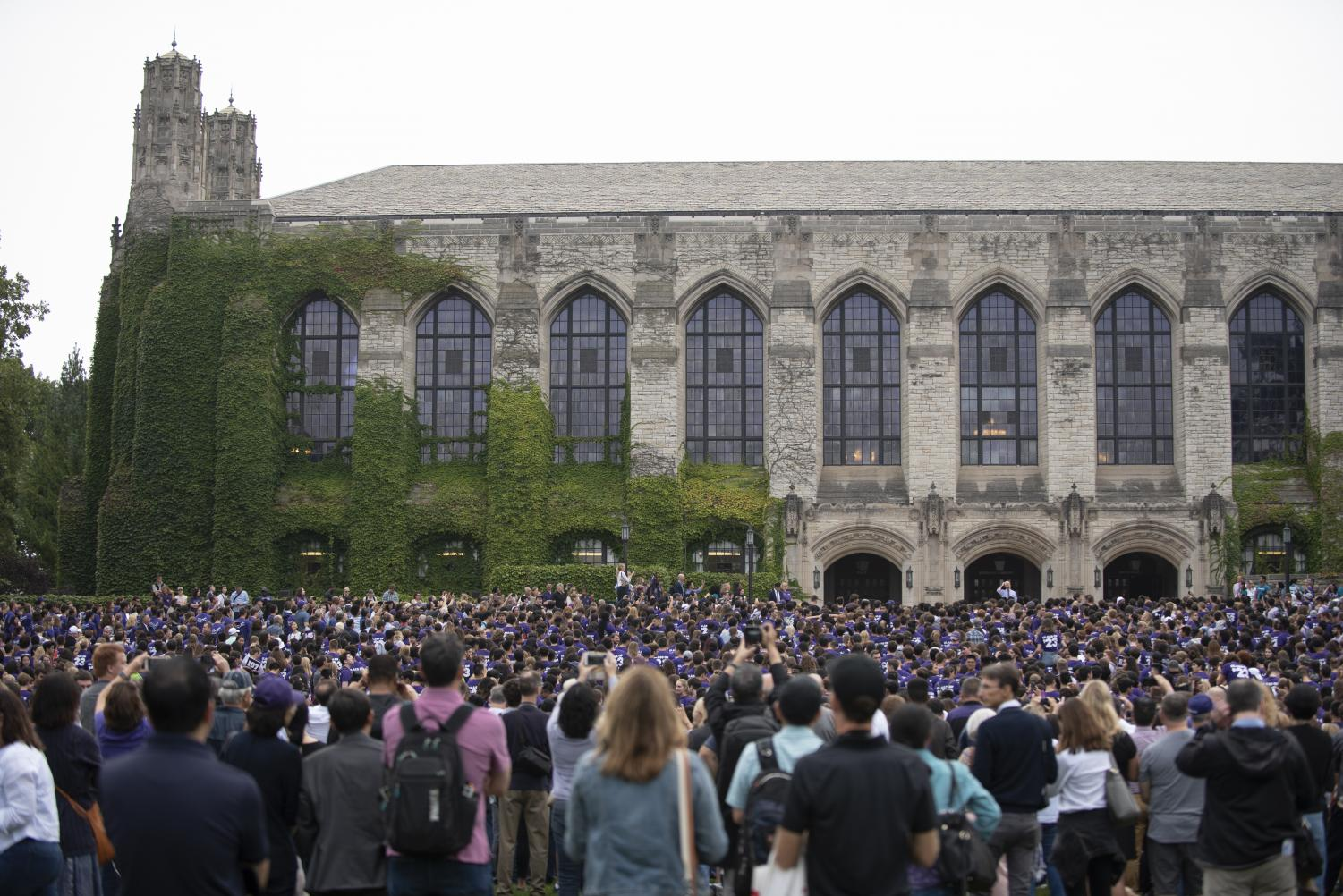 Transfers and the Class of 2023 after March Through The Arch. Twenty-five percent of college students transfer schools at some point in their university careers, according to CNBC.