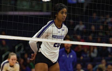 Cats fall to No. 7 Wisconsin at home in straight sets