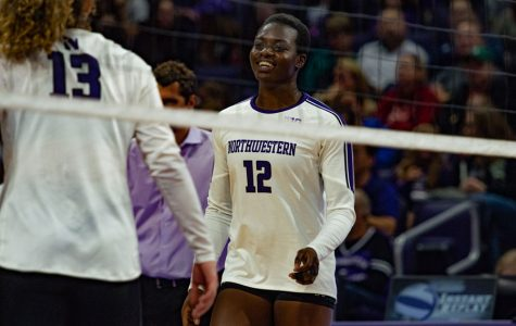 Volleyball: Northwestern 0-6 in conference play after loss to No. 20 Purdue