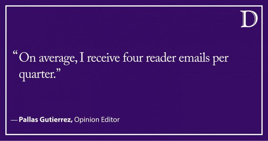"Receiving ""fan"" mail as an opinion writer"
