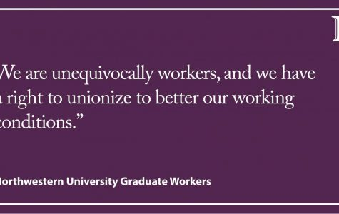 LTE: Northwestern's opposition to graduate unionization aligns with Trump