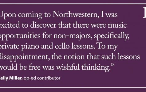 Miller: The cost of private music lessons for non-majors
