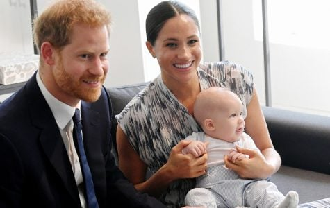 Prince Harry, Duke of Sussex, Meghan, Duchess of Sussex and their baby son, Archie Mountbatten-Windsor, during their royal tour of South Africa in September 2019.