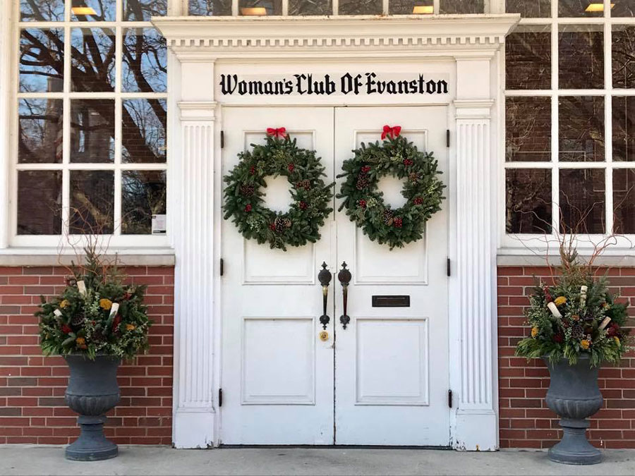 The Woman's Club of Evanston, 1702 Chicago Avenue. The Woman's Club hosted its annual Holiday Bazaar this weekend.