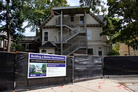 Black students are adjusting to the temporary Black House, anticipating renovations