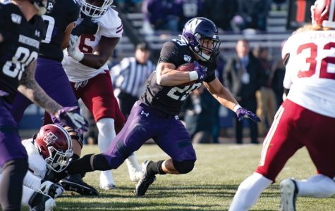 Football: Northwestern playing more youth as season winds to a close